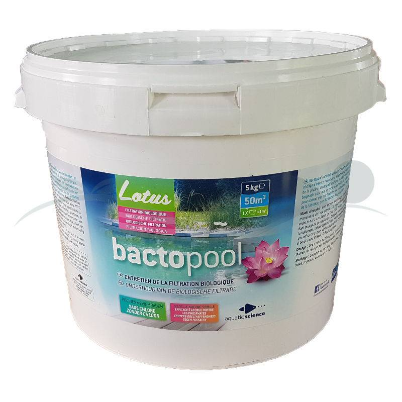 Traitement piscine naturelle Bactopool
