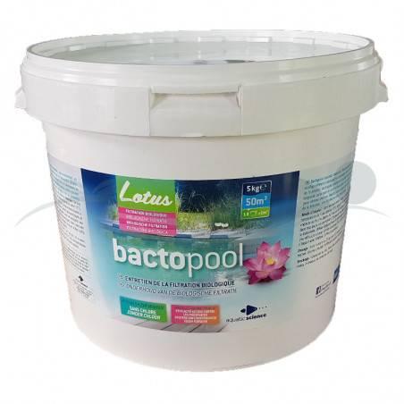 Bactéries pour baignade Bactopool