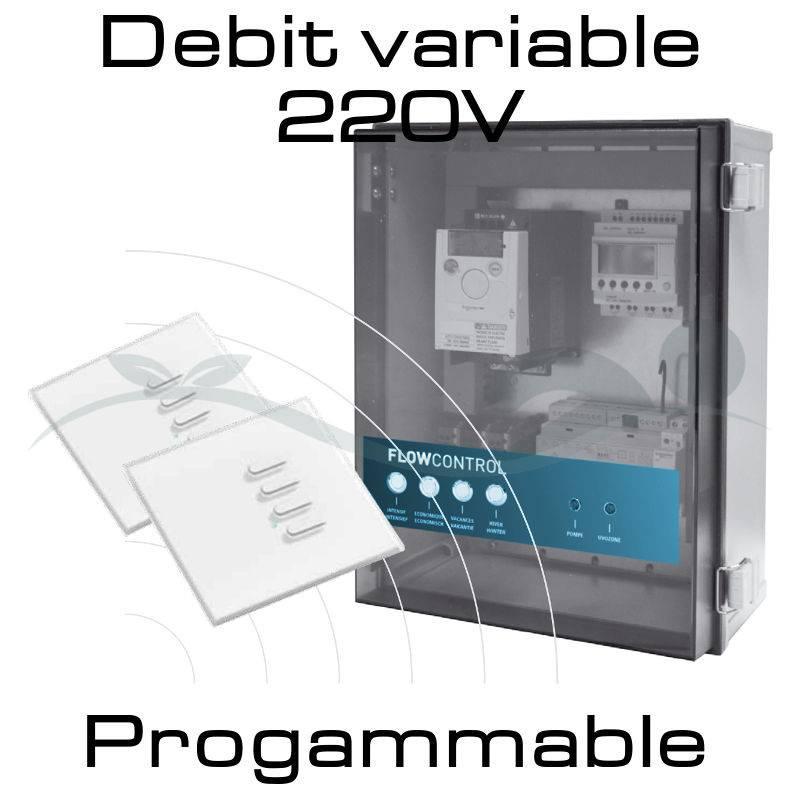 Programmateur de débit pour piscine naturelle Flow Control