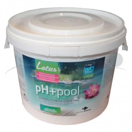 Réhausseur de PH piscine naturelle